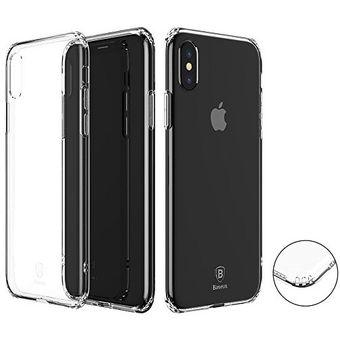 02228513c27 Compra Carcasa Iphone X Silicona Baseus Transparente online | Linio ...