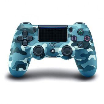 Joystick Dualshock 4 Azul Camuflado Ps4