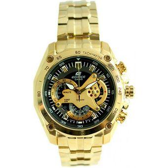 3d18c07e11d9 Compra Casio - Reloj Analógico Hombre Edifice EF-550FG-1AV - Dorado ...