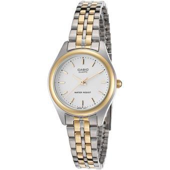 44aa7e2ba503 Compra Reloj Casio LTP-1129G-7A Plateado Con Dorado Para Dama online ...