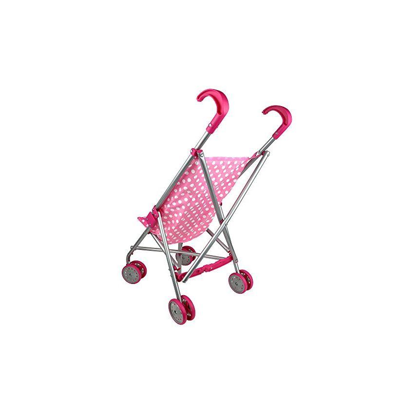 cochecito de muñecas plegable de lunares rosa y blanco con  PR809TB0QS2PZLMX 4gySpNMn 4gySpNMn Heynqoj8