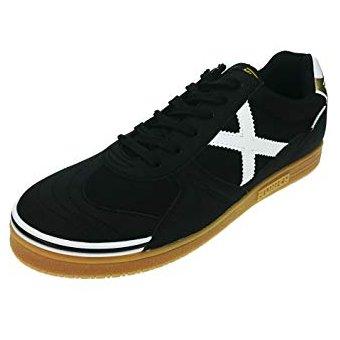 los mejores precios rebajas outlet mirada detallada Zapatos Tenis Munich X Zapatillas Fútsal Fútbol Salón Negro