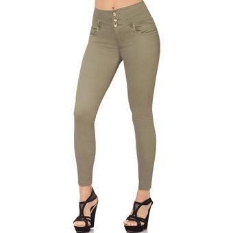 Pantalon Furor Mujer Verde Gabardina Stretch Barranquilla Linio Mexico Fu873fa13ll7xlmx