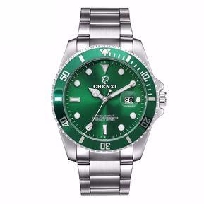 c1ca309e2668 CHENXI Reloj de pulsera impermeable de cuarzo para hombre-Azul