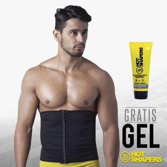 b2b278429b Faja Cinturilla Hot Shapers Broches Hombre + Gel Anticelulitico