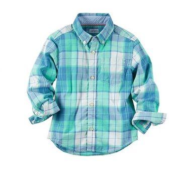 5b0b2c89b Compra CARTER´S - Camisa Manga Larga Para Bebé Niño - CELESTE online ...