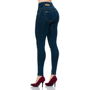e26701e70ad Jeans Furor Mujer Azul Mezclilla Stretch Barranquilla