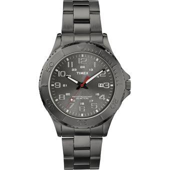 2656e958a8ba Compra Reloj Timex Mod. T2P390 Style Caballero Brazalete Gris online ...