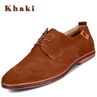 291c60a2521f5 Super Gran Tamaño Nuevos Zapatos Cuero Casual Zapatos Hombres Zapatos  Casual En Zapatos Casual Hombre Hombres