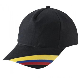 Compra Gorra Cachucha Colombia 5 Cascos Dril Visera Indeformable ... 078445d0161