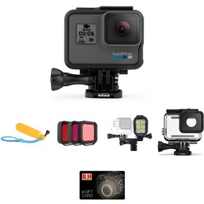 31a2141753cd9 Cámara Digital GoPro HERO6 Black Kit - Nueva y Original