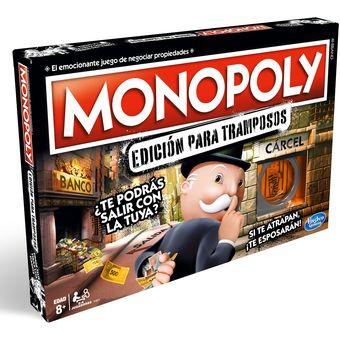 Compra Monopoly Cheaters Edicion Tramposos Hasbro Online Linio Chile