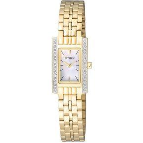 35963935a1a0f Reloj Citizen EZ6352-58D Ladies Watch Collection Análogo Con  Calendario-Dorado