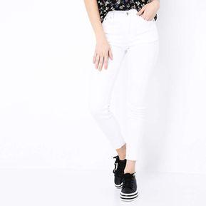 36dc51ca8b Jeans Largos University Club para Mujer-Blanco
