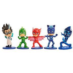 1fe3956192 Juguete de Accion PJ MASKS 24860 Set x5 Figuras Multicolor