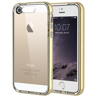 3e3d83dfe40 Compra Estuche iPhone 5 5s SE Light Tube Flashing Hybrid ROCK online ...