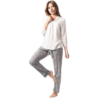 785c9c068f Compra Conjunto Pijama Mujer Noite Flores online