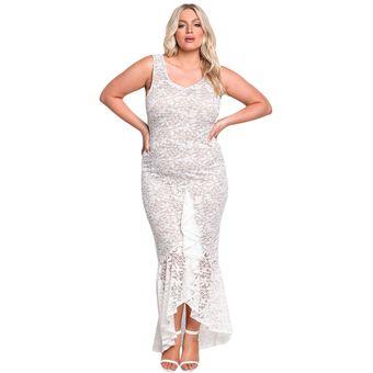 Vestidos de encaje para fiesta blanco