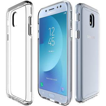ae275fc1e2c Para Samsung Galaxy J7 (2017) (EU Version) PC + TPU Protector Transparente