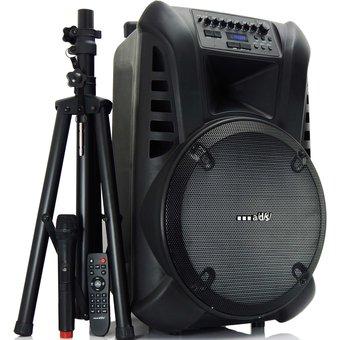 Parlante Bluetooth Portable Futurista Con Batería Y Micrófono ADS TN15
