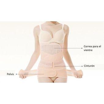 7d004f35a Compra Faja para mujer 3 en 1 triple ejercicio post parto M L XL 2XL ...