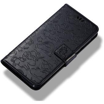 6481ac4ae0a Para Nokia N8 Prensado Horizontal Caballo Cloud Print Flip Funda De Cuero  Con Soporte Y Ranuras