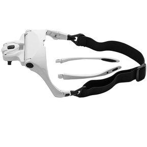 5cdfc8b3c8 LED Cabeza Con Lentes De Aumento Lupa-blanco