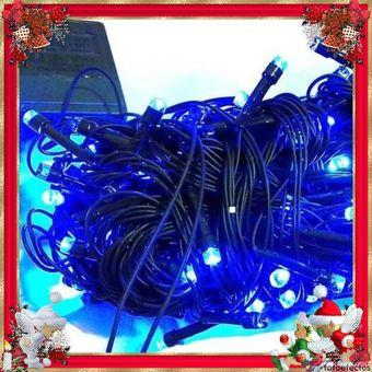 7dcd96662da Compra Extension De 100 Luces LED Navidad Cable Verde Azul online ...