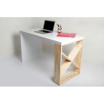 Compra escritorio minimalista blanco online linio colombia for Escritorios de oficina minimalista