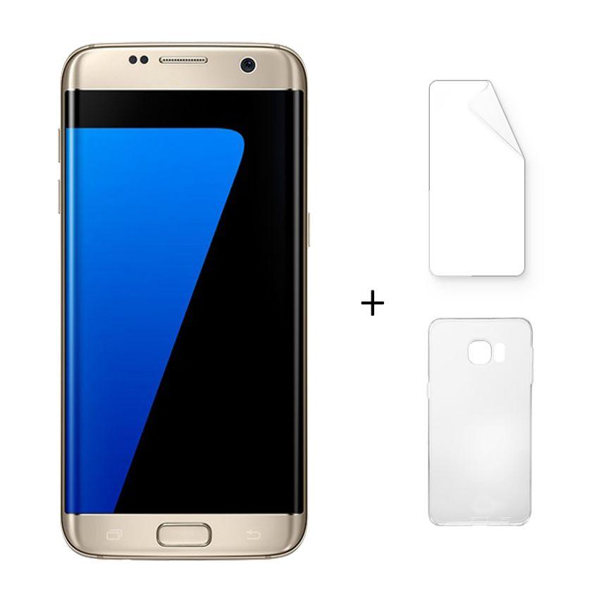 Samsung Galaxy S7 Edge G9350 4G LTE 5,5 Pulgadas Quad Core 4 GB RAM 32 GB De La ROM Smartphone Android Oro