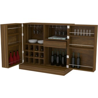 Compra Mueble Bar Tuhome Sintra Caramelo Online Linio Chile