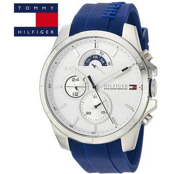 01eef5e2b5e3 Agotado Reloj Tommy Hilfiger 1791349 Cool Sport Acero Inox Correa De  Silicona - Blanco Azul