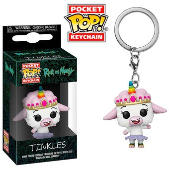 Funko Pocket POP KEYCHAIN Rick and Morty Tinte Vinyl Figure #35931