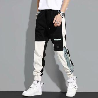 Joggers Pantalones Para Hombre Casual Streetwear Harajuku Pantalones Sueltos Moda Japon Moda Cintura Elastica Hombres Ropa Lapiz Pantalones Wot Black Linio Peru Ge582fa0g90w9lpe