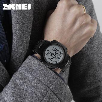 Compra Reloj Impermeable Para Hombres Al Aire Libre-Negro online ... c452c33dccc8