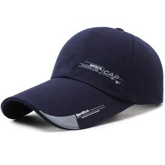 orden marca famosa el más baratas 2019 gorra deportiva gorro de hombre-azul