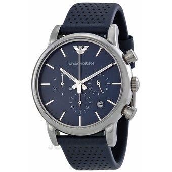 53d48fea59b70 Compra Reloj Emporio Armani AR1736 -Azul Plateado online   Linio México