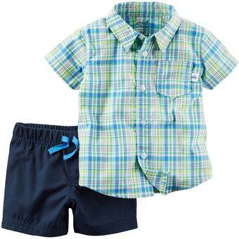 773486d0f Compra Set/Conjunto 2 Piezas Carter´s Short + Camisa Para Bebé Niño ...