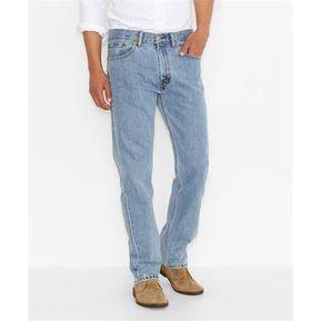 3e61f7f59bd Jeans Levis 505 Regular Fit - Light Stonewash