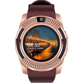 f97fcdc66c70 Compra Reloj Inteligente Telefono Smartwatch V8-Dorado online ...