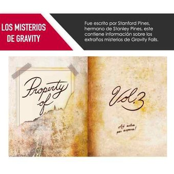 Libro Gravity Falls Diario 3 Disney