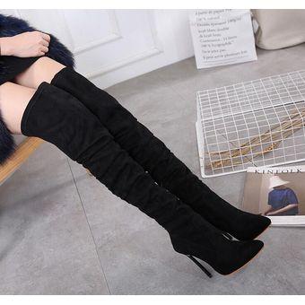 1b161cd325 Compra Mujer Botas Largas Con Tacon Tailun-cool-Negro online