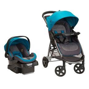 9838ca7ee Coche Y Silla Carro Safety Step And Go Azul Bebés Niños