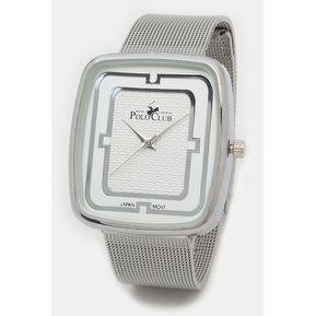 c27734f52 Reloj Polo Club Unisex Plata Modelo RLPC 2910 A