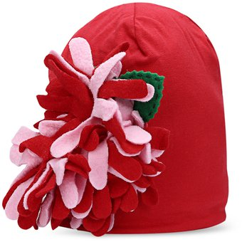Compra Elegante flor grande adornado bebés beanie sombrero -   1 ... 7619dab71fd