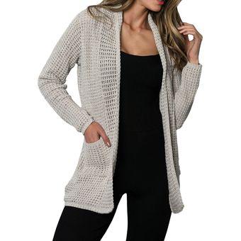 bc61a80dc4f7 Compra Saco Perlado Totas 700 Para Mujer Gris online