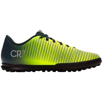 aa7d3500dad75 Compra Zapatos Fútbol Niño Nike Jr MercurialX Vortex 3 CR7 TF -Negro ...