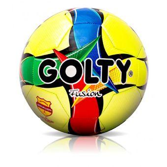 68e6759b62ad0 Balon Profesional De Futbol Golty Fusion T651419   5 (Uso Recreativo)