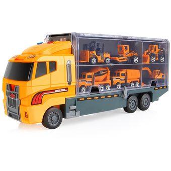 Camión 6pcs Educación Truck Para Model Coche Infantil Niños Juguetes wX8nP0ONk