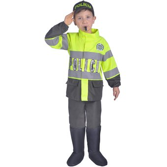 Disfraz Policia Capitan Ref 1731 Nino